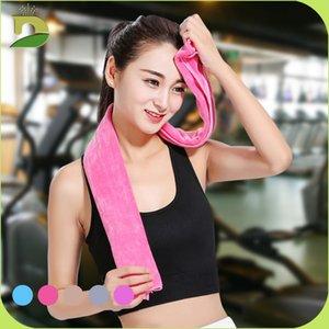100*30 Cm Sports Sweat Yoga Movement Super Soft Sanding Microfiber Summer Ice Cool Towel Secret Pink High Quality Bath