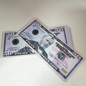 Moderne Money Euros Dollar simule les accessoires de célébrités Bar Web Coin Bank Banque Bill 03 Money Atmosphère Prop Dollar Bills Contrefaite VGNBE