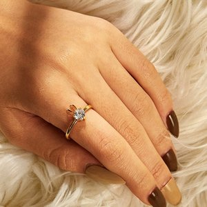 30pcs Lot Korea New Rabbit Shaped Finger Rings Hot Brass Crystal Opening Rings Women Animal Gold Adjustable Hand Ornaments Wholesale