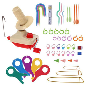 Winder Handheld Winder Swift Fiber String Bola de Lã Titular Prático String String Machine Machine Sewing Acessórios