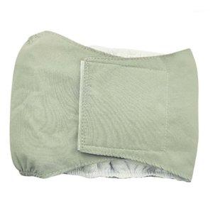 Pastel de pañales de mascotas Pantalones fisiológicos Pantalones fisiológicos Reservar al aire libre transpirable reutilizable perros masculinos perros nappies orina almohadilla a prueba de fugas correa 1