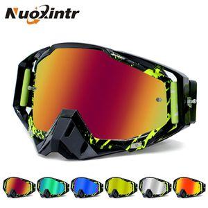 Nuoxintr ROAOPP Марка мотоцикла Goggles ATV Off-Road Шлем Ski Casque Мотоцикл очки Спортивные солнцезащитные очки Мото велосипед