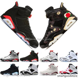 Top Bred VI 6 6s Mens Basketball Shoes Infrared 23 3M Reflective Tinker Slam Dunk CNY Wheat Men Sports Sneakers Designer Trainers