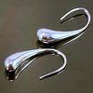 Großhandel -Tiefste Preis Weihnachtsgeschenk 925 Sterlingsilber-Art und Weise Ohrringe E004