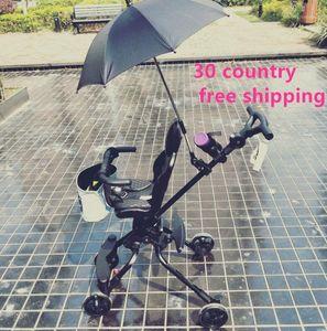 baby 5 in 1 stokk dsland Europe high landscape visior light stroller car seat Stroller umbrella mommy bag as free1