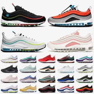 97 stock x gs sky michigan erkek koşu ayakkabıları dünya çapında siyah beyaz yanardöner zar zor gül moda kadın spor eğitmenleri spor ayakkabısı