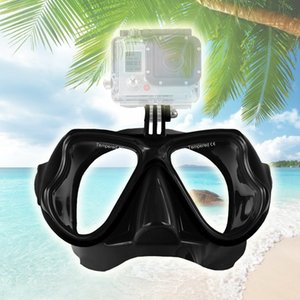 Areyourshop Fitness Black Diving Mask Scuba Snorkel Goggles Face Glasses Mount Fit For GoPro Hero Sporting goods Accessories Parts