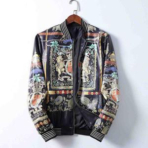 20ss nueva chaqueta de cuero de invierno venta caliente cazadora de moto de competición fresca de otoño capa delgada de los hombres de los hombres de los hombres de la chaqueta