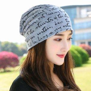 Beanie / Kafatası Kapaklar kadın Şapkalar İlkbahar Sonbahar Ince Nefes Şapka Chapeau Destenli Kap Kova Beanie Bonnet Panama Kadınlar Için Panama