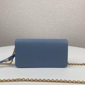La nouvelle arrivée du 1DH029 est un excellent sac de conception avec une mini-huile d'omo-épaule importée lisse et élégante Souligner la peau de vachette