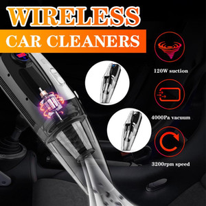 4 in 1 Auto Vacuum Cleaner Handheld Wash Vacuum Cleaners Pointer And Digital Car Cleaner