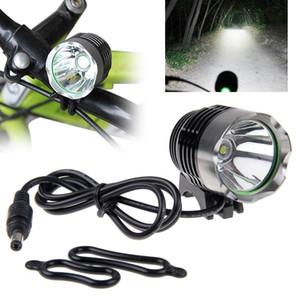 Cree T6 XML 1800lumen Led Bike Light Bicicleta Luz Farol 3modes Bike Light Frente bicicleta Lâmpada Farol Pacote Com bateria Carrega