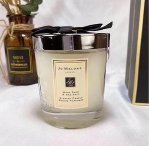 Ready stock Jo Malone London Christmas Crazy Candle Fragrance 200g High Quality Candles Incense in gift box Free Shipping