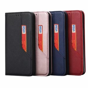 Retro Cash ID Card Slot Leather Wallet Case For Iphone12 Iphone 12 2020 11 Pro Max XR XS 8 7 6 Flip Cover Suck Magnetic Closure Holder Purse