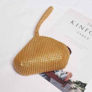 SeeBeautiful New Fashion 2020 Summer Autumn Vintage Zipper Beading Beautiful Irregular Small Handbag Women 3 Color Tide N492