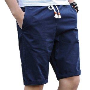 LawrenceBlack Brand Men's Summer Mens Beach Cotton Casual Shorts Maschile Homme Bermuda Masculina Plus Size 5XL 979