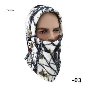 양털 스포츠 모자는 두건 오토바이 스키 후드 방풍 랩을 순환 헤드 커버 캡 겨울 따뜻한 전체 얼굴 마스크를 CAMO
