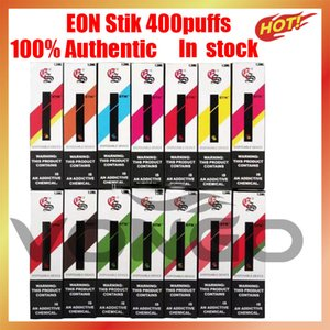 100% authentifiant Qualité Eon Stik jetable Vape vide jetable disponible 280mAh batterie 1.3ml 400 pk mr vapeur jetable
