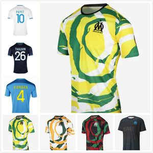 Olympique de Marsella Soccer Jersey 2020 2021 OM Fans Versión del jugador Maillot de Foot Payet Kamara Benedetto Kids 20 21 Enfants Jerseys