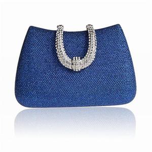 2020 bolsa New Vintage feminina Lady Embreagens Flor Cristal Diamante noite saco de embreagem Upscale Dia Styling casamento Bolsa WY04