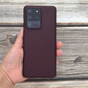 Carbon Phone Cases For Samsung Galaxy S20 S20 Plus  S20 Ultra Thin Fiber Case