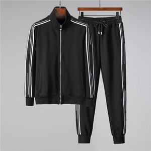 Designer di lusso di alta qualità Felpe da uomo sudore tuta marca design abbigliamento uomo s tracksuits giacche sportive set da jogging abiti w18