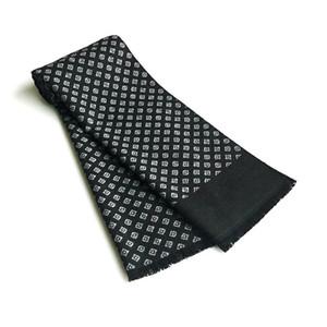 Bufandas de lujo diseño hombres bufanda foulard plaid chales moda casual invierno cachemir bufandas cálido bufandas cuello envoltura masculino bufandas hombre