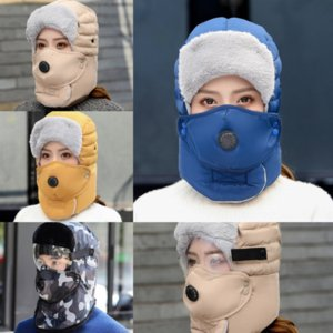 cDgS Lei Feng hat female winter outdoor cycling windproof protection anti droplet mask warm ear protection thickened ProtectionWarm