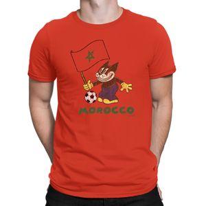 Moda Retro Yaz Baskı T Shirt Fas Comic futbolcu Kedi Bayrak Tişörtlü Retro Sporters Film Tee Gömlek spor Kapşonlu Kazak Hoodie