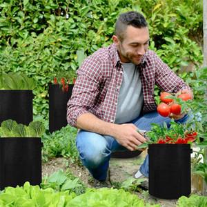Pflanze Grow Bags Startseite Garten Kartoffel Topf Treibhaus Gemüse Wachsen Taschen Feuchtigkeitsspendende Jardin Vertikale Gartentasche Werkzeuge VTKY2124