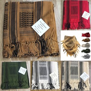 Taktischer Schal Armee Fan Arab Schal Herrenmaske Winddichte Kopftuch Baumwolle Outdoor Mode Winter Dicke Baumwolle Y9