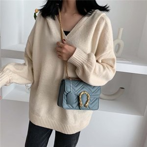 2020 Primavera Designer Shoulder Bag Couro PU Mulheres Flap Handbag Senhoras Corssbody Bag Bolsa Hot Sale Marmont Messenger Bags