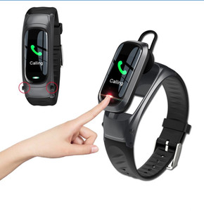B9 Smart Watch For Women Men With Bluetooth Headphone Hate Rate Blood Pressure Monitor Sport Smartwatch Android Ios Pk M1 M2
