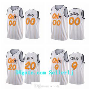 Men 20 Fultz 9 Vucevic Aaron Gordon OrlandoMagicnba 2020-21 New City Uniform Jersey