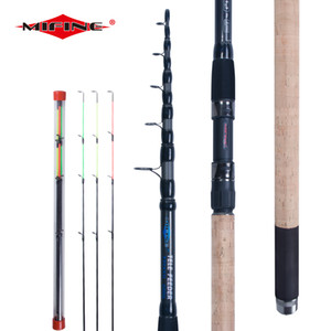 MIFINE Telescopic FEEDER Fishing Rod 3.0 3.3 3.6M High Carbon Fiber Spinning Heavy Fishing Carp ROD ACTION Max 200g 201022
