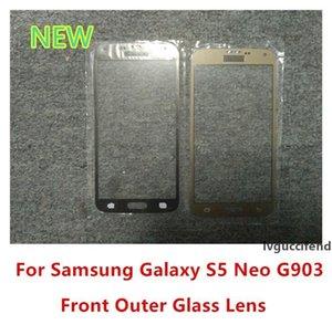 لشاشة سامسونج غالاكسي S5 الجدد G903 G903F G903W الجبهة اللمس الخارجي زجاج استبدال غطاء العدسة عالية الجودة
