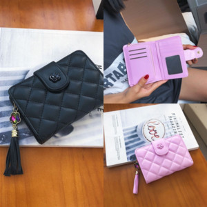 ohvj BISI GORO cheap leather Business brand Card Wallet New RFID Blocking Slim Card Holder PU Single Aluminumwallet Hasp Card Case