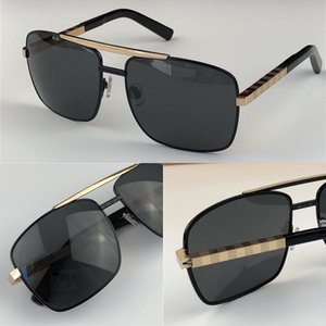 popular classic men outdoor sunglasses 0259 attitude gold square design frame uv400 protection eyewear vintage summer style 0260