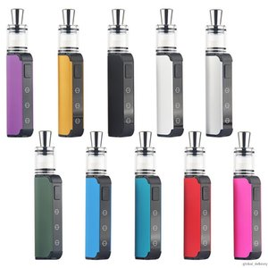 Wax Vaporizer 450mAh Variable Voltage Vape Mod Preheat Battery With Ceramic Wax Atomizer Electric Dab Rig E Cigarettes