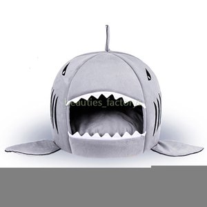 Forma Cat Bed Cushion House Cucciolo Cucciolo Kennel Shark Pet Caldo Portable Dog Forniture 1pcs XXTI