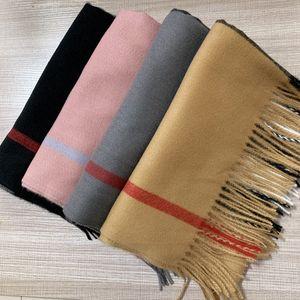 С Подарочная коробка сумка 200 * 70см Mens женщин Luxury Платки Платки 2020 Зимняя мода High End Большой Классический Check Blanket шарфы кашемира шарф