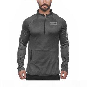 2020 ASRV new sport Outdoor hoodie fitness autumn reflective sweatshirt sleeves running zipper Mens long slim sports Hoodie Gavae