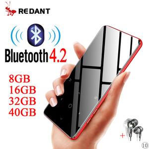 Sport player bluetooth with speaker walkman media music player flac metal radio fm portable hi-fi mp 3 tf LJ201016