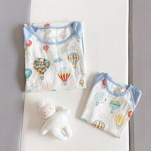 الأطفال الجديد باس النوم بنات القطن قمصان النوم الطفل الأم أطفال القطن ملابس نوم بنات الأم والطفل اللباس أطفال ملابس فتاة