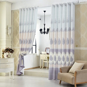European Thickened Linen Shading Curtains for Living Dining Room Bedroom. xAfF#