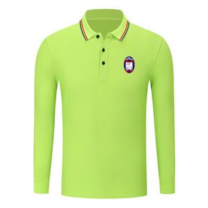 FC crotone cotton long sleeve shirt men lapel polo soccer men polo shirt training jersey Men's Polos slim polo shirt