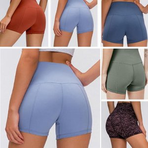 Designer Damen Leggings lu Frauen Fitness-Workout Yoga elastische Hosen gestapelt Fitness Overalls de Diseno volle Strumpfhosen S-XXL-Symbol lu 21 32 dwb787 #