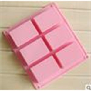 8*5.5*2.5cm square Silicone Baking Mold Cake Pan Molds Handmade Biscuit Mold Soap mold mould