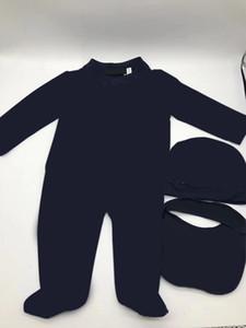 Marka Bebek Erkek Kız Tulum Tasarımcısı Çocuklar Uzun Kollu Pamuk Tulumlar Bebek Savaşı At Pamuk Romper Erkek Giyim Ücretsiz Kargo