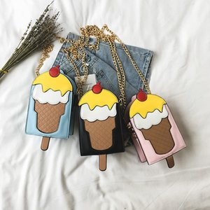 2020 Fashion Ice Cream Lovely Sweet Ladies Handbags Shoulder Bags Evening Bags Day Clutches Women's Crossbody Messenger Bag Flap